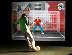 Virtual GoalKeeper, Real Game