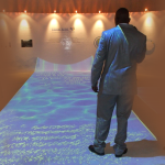 Portugal Multi projector interactive water effect