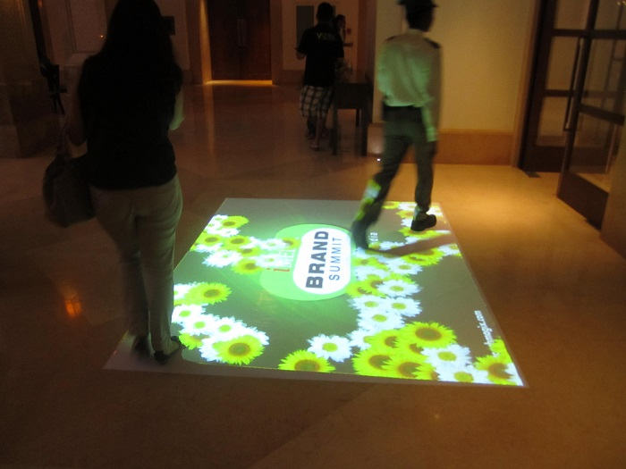 TouchMagix Interactive Floor