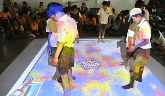 Differently abled Kids Explore Techno Games