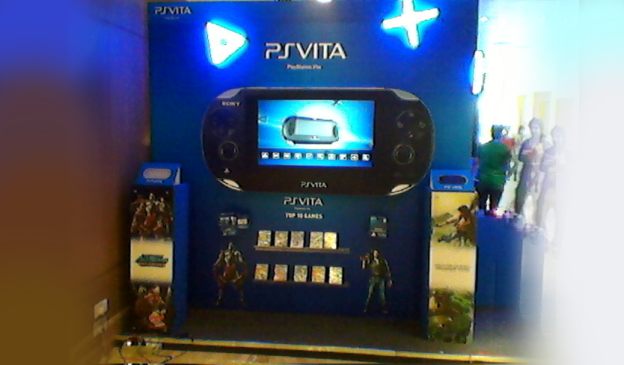 Multitouch for the Sony PS Vita