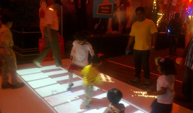Vodafone Provides Fun & Memorable Experience for Young Visitors to the Exhibit