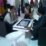 Multi-touch Magix Kiosk by TouchMagix being used by Leading Real Estate Developers
