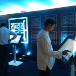 Multi-touch-MagixKiosk-for-Book-Launch