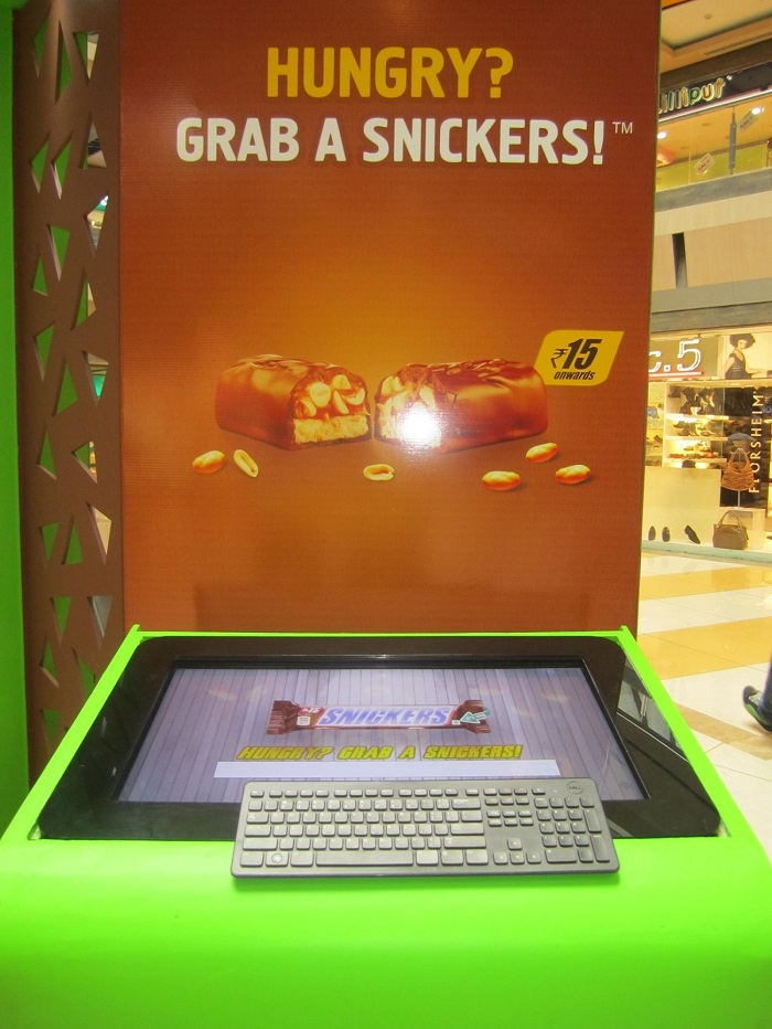 TouchMagix MagixKiosk for Snickers