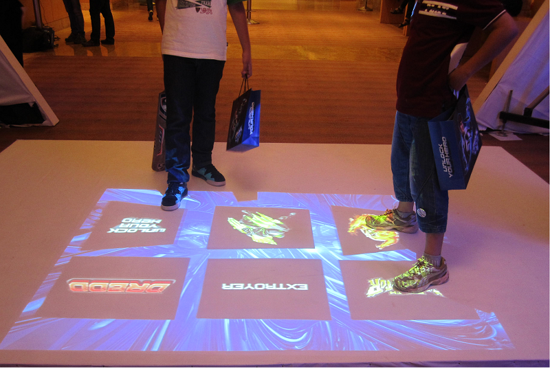Mattel Toys Using TouchMagix MotionMagix Floor