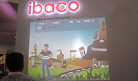 Ibaco Interactive Wall Engages Mall Visitors and Facebook Crowd