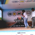 TATA Motors using Interactive Wall