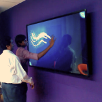 TouchMagix Multi-Touch System at ATOS Customer Experiece Center
