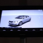 An Interactive Display With Drive for Skoda