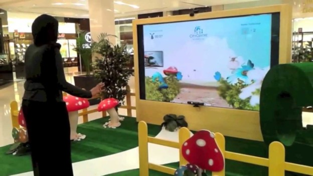 An Interactive Shopping Wonderland