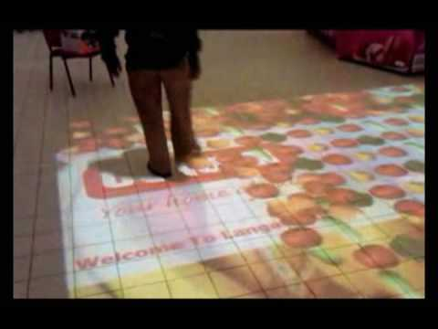 Kenya: Interactive Floor Projection system
