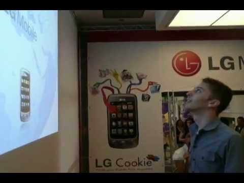 LG Mobile Interactive Wall Projection and Floor Games