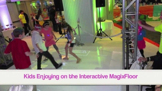 "MotionMagix Interactive Floor at ""Nickelodeon Kids Choice Awards 2012″"