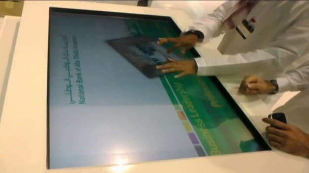 Multi-Touch experience in Dubai via Emirads
