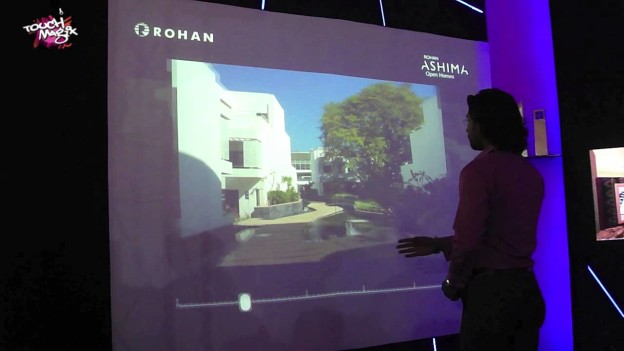 Prominent Builder Advertises Premium Projects using Interactive Technology